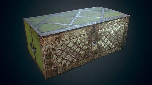 ANIMATED OLD CHEST FREE