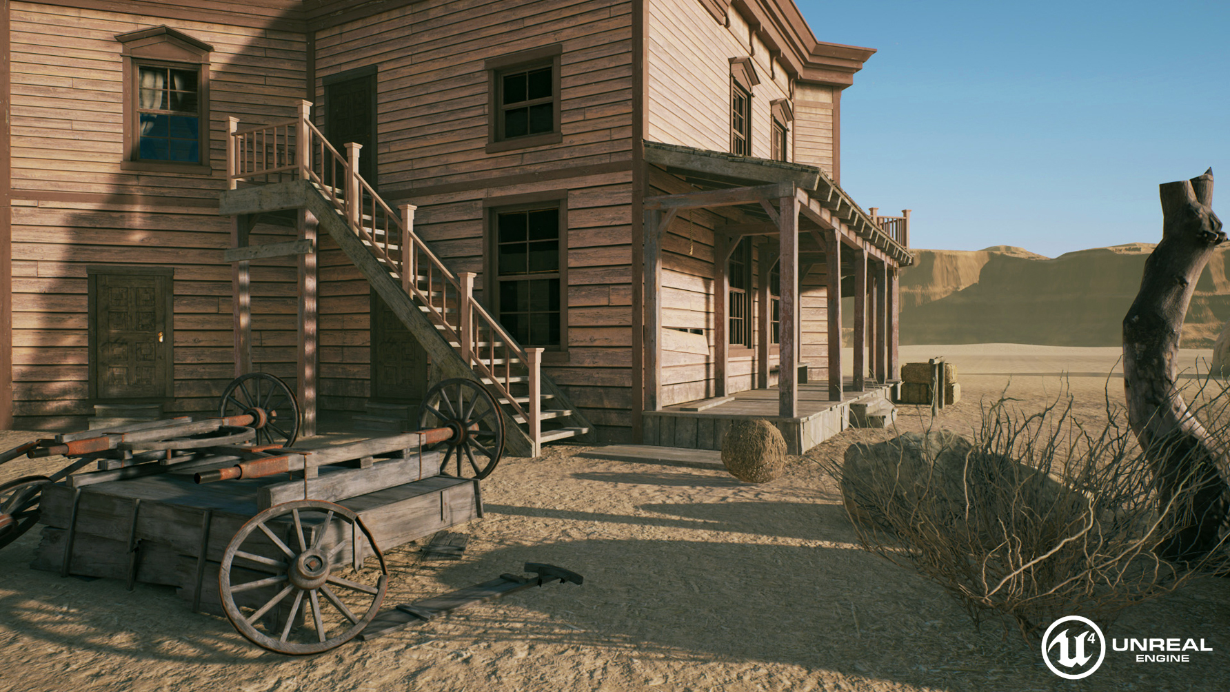 Unity 5 and ue4 comparison for Salon western