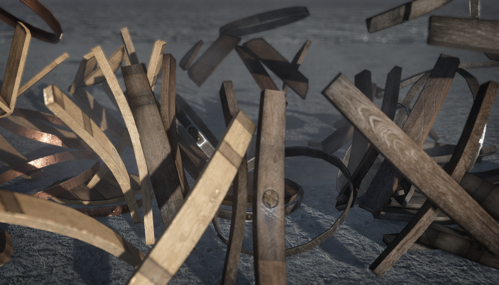 DESTRUCTIBLE PROPS